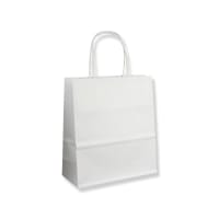 Biele papierové tašky